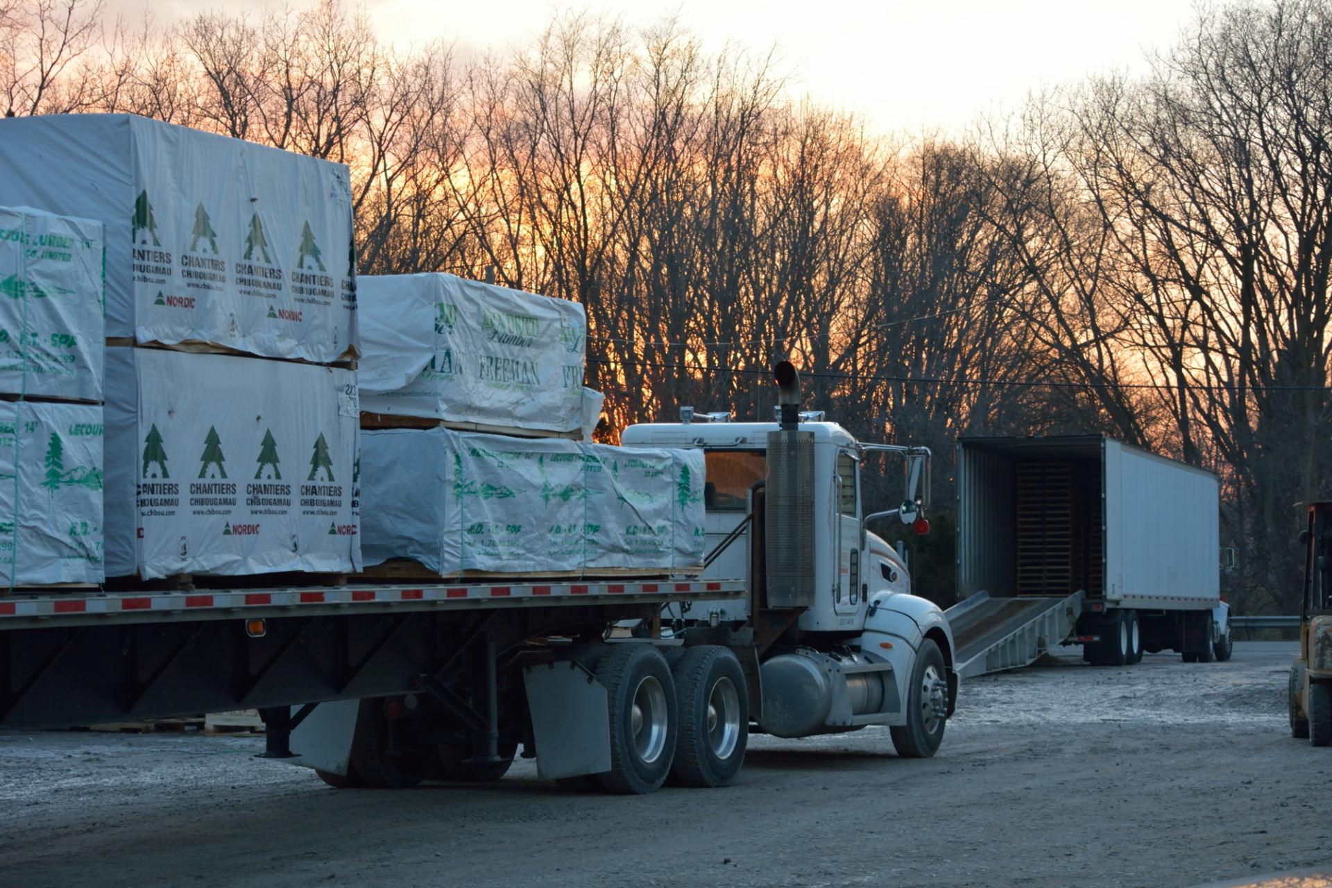 lumber shipment